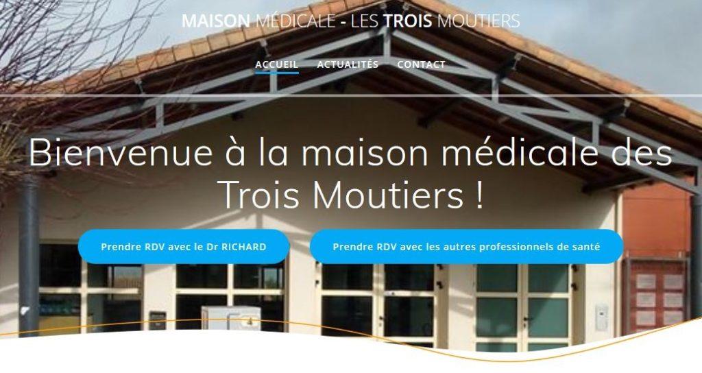Maison Médicale - Le site internet