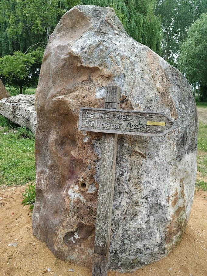 le sentier des dolmens